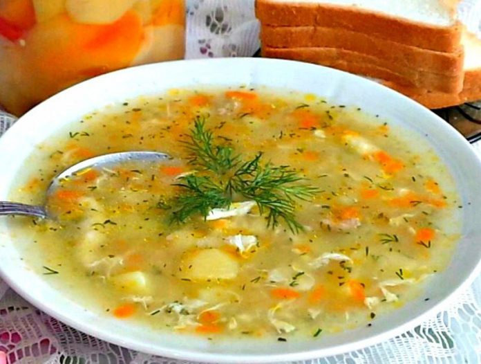 Этот суп-затируху, который готовила моя любимая бабушка я запомню на всю жизнь