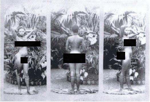 27 фото, показывающих, как в XX веке работали ″зоопарки людей″