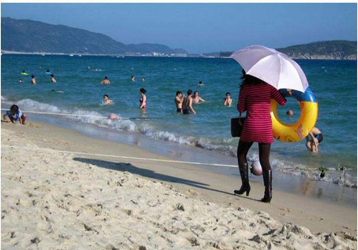 Когда попытка выглядеть сексуально на пляже провалилась с треском