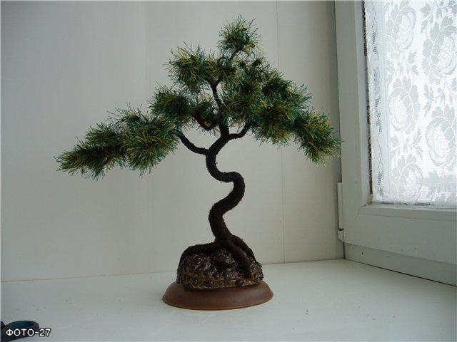 Ствол дерева своими руками фото