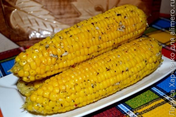 рецепт кукурузы