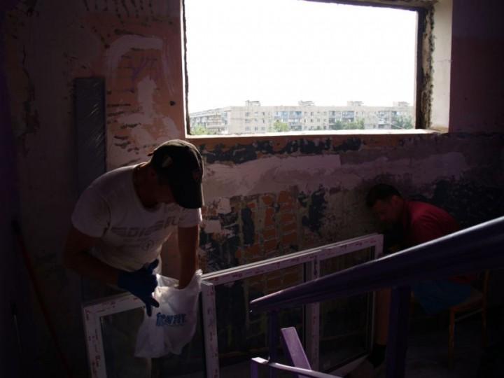 ремонт, подъезд, своими руками, украина
