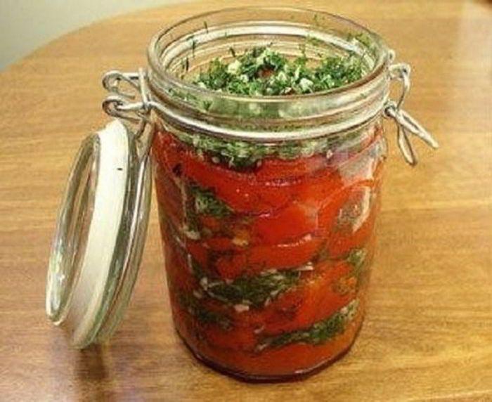 Перец болгарский с чесноком на зиму. Если готовить перец, то только так!