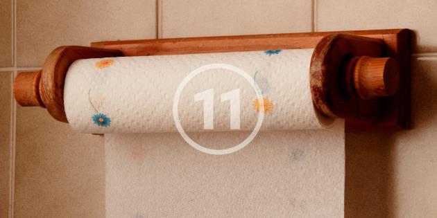 Используем бумажное полотенце не по назначению - 11 хитростей