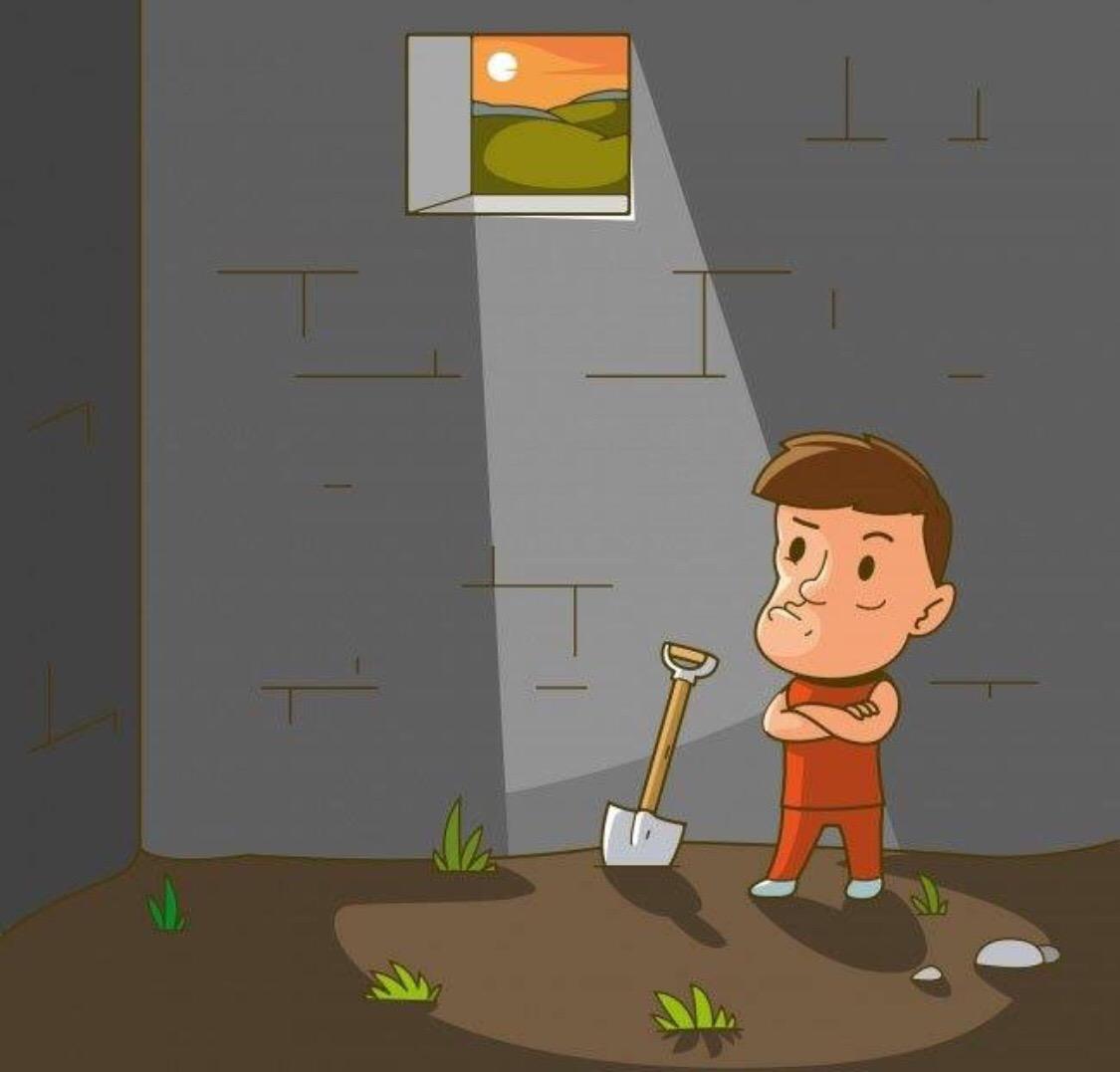 Сможете ли вы сбежать из тюрьмы? Узнайте, решив головоломку!