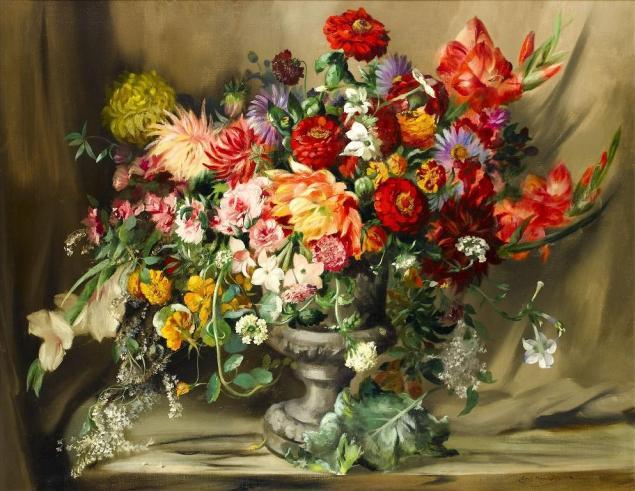 Роскошные цветы Сесил Кеннеди