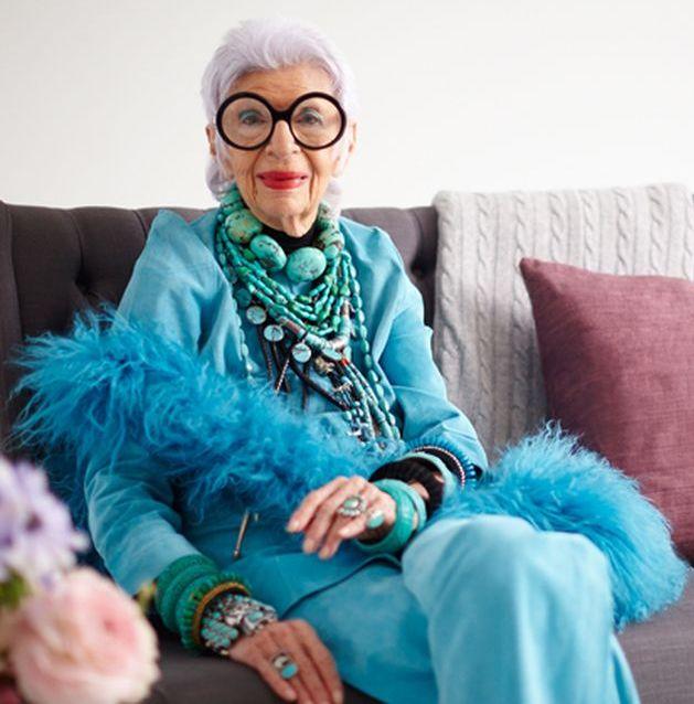 94-летняя Айрис Эпфель о том, как получать удовольствие от жизни, не смотря ни на что