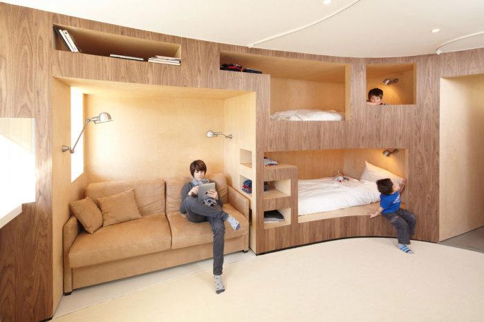 Топ 19 спален для экономящих пространств16