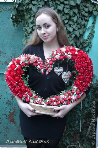 Свит-дизайн Валентинов день Моделирование конструирование Конкурсная работа Женское и мужское начала Мое представление  фото 10