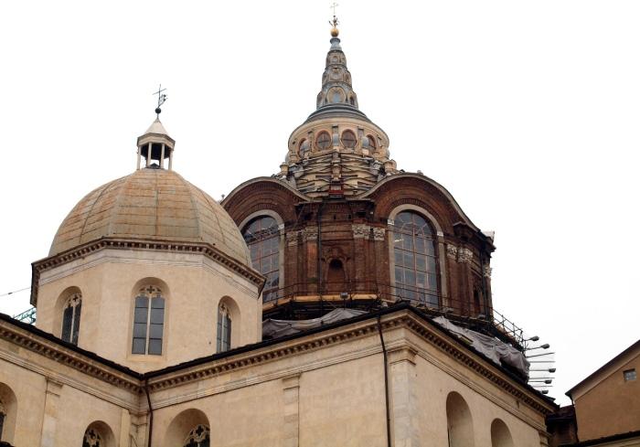 Собор Иоанна Крестителя в Турине, где хранится плащаница