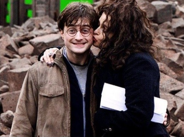 Гарри Поттер с другой стороны экрана
