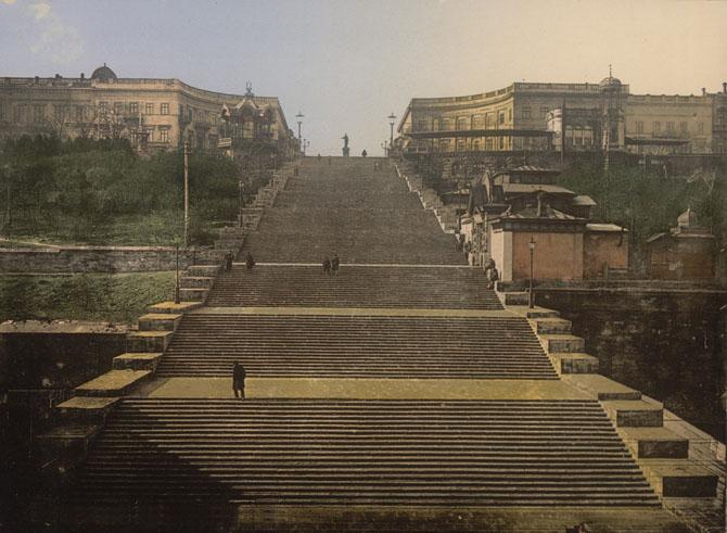 История Потёмкинской лестницы