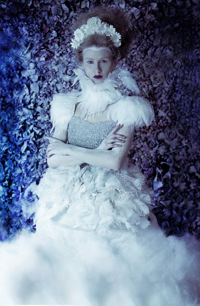 Фотопрект «Таинственный сад». Потрясающие сюрреалистические портреты фотографа Даниэлы Мэджик - 3
