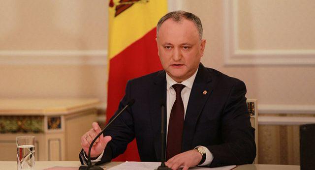 Игорь Додон: без России Молдавия потеряет свою государственность