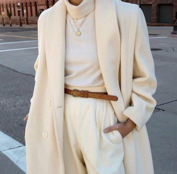 Шикарно – 9 сногсшибательных образов, которые доказывают, что белый нужно носить зимой