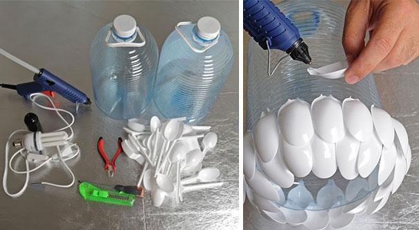 Что можно сделать из пластмассовой бутылки своими руками фото