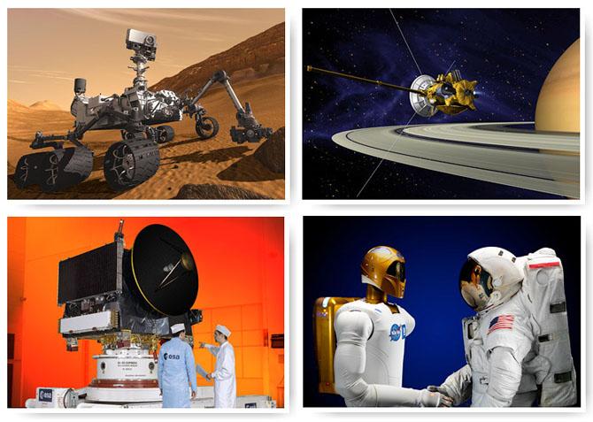 Роботы, изучающие космос