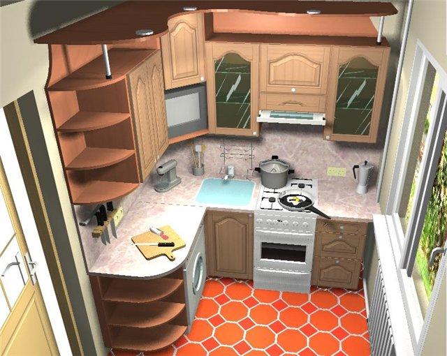 Дизайн интерьера. Большие секреты маленькой кухни
