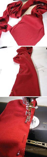 как сделать основу для подушки-узла