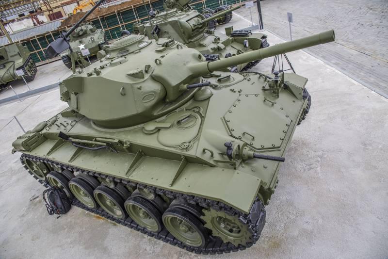 Рассказы об оружии. Лёгкий танк М24 «Чаффи» снаружи и внутри
