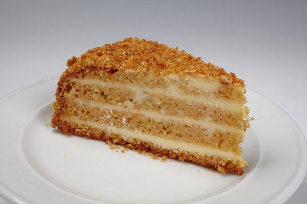 Торт Медовик со сметанным кремом (Рецепт)