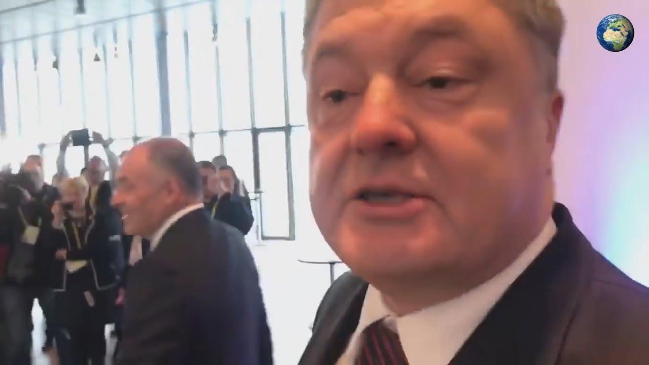 Фото и видео пьяного Порошенко