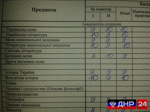 """Украина переименовала школьный предмет """"русский язык"""""""
