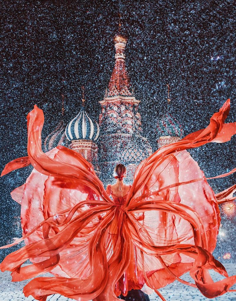 Россиянка снимает девушек в роскошных платьях на фоне сказочных пейзажей