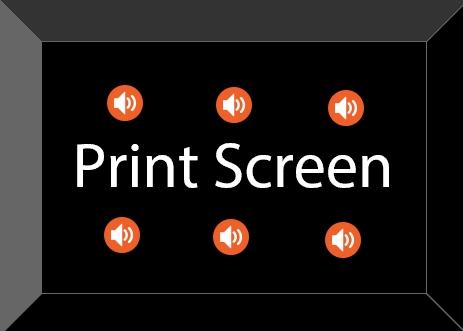 Как в Windows 8.1 и 10 озвучить нажатие клавиши PrintScreen
