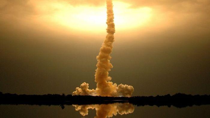 Старт космических кораблей (13 фото)