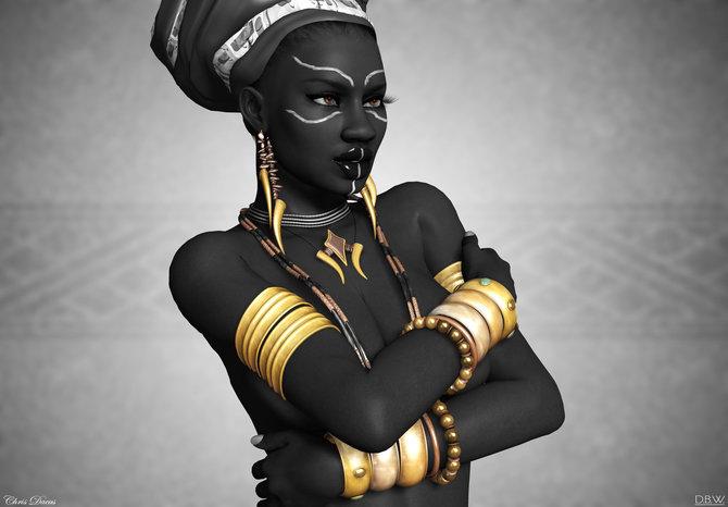 Африканская красота