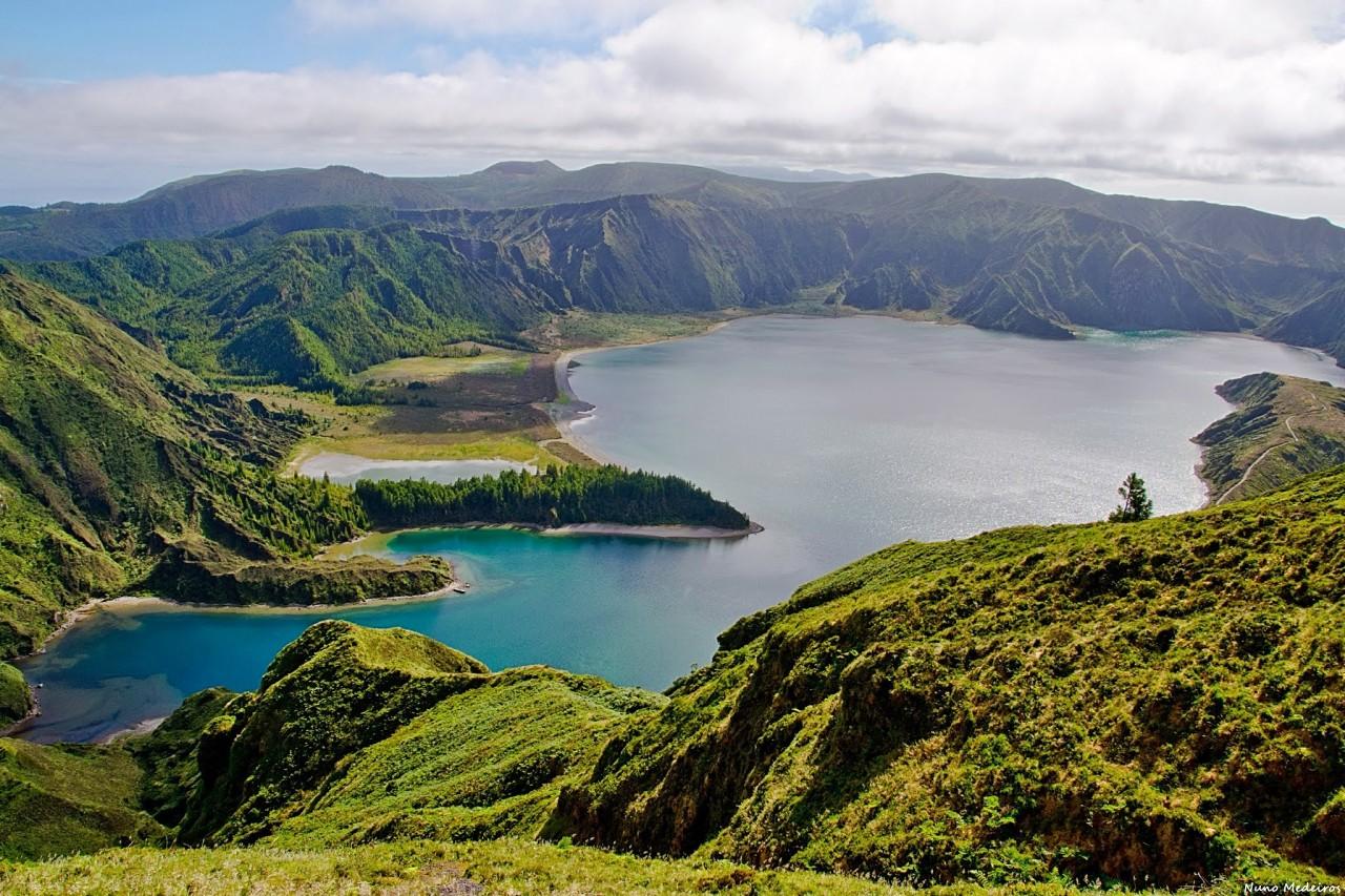 Lagoa do Fogo красота, озера, природа