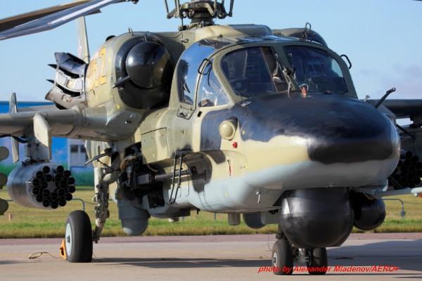 Александр Младенов о вертолете Ка-52 «Аллигатор»