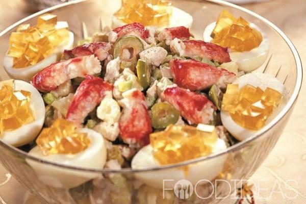 Французский салат «Оливье»