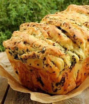 Вкуснейший хлеб с сыром и зеленью.По этому рецепту получается изумительный хлеб. Ароматный хлеб,...