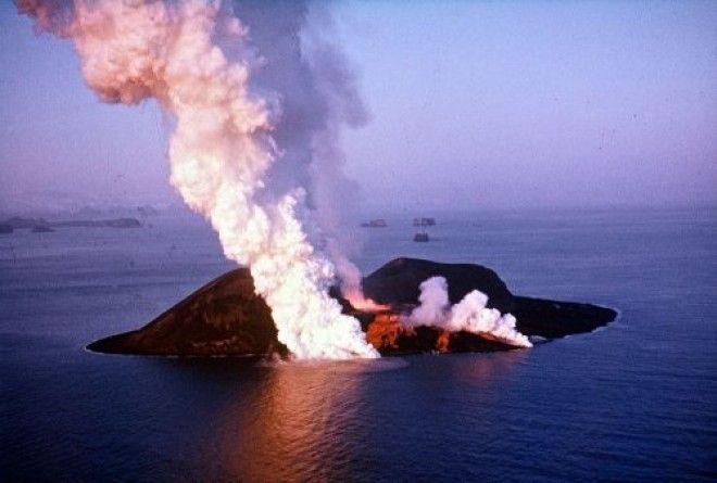 Посреди Атлантического океана появился абсолютно новый остров - Сюртсей
