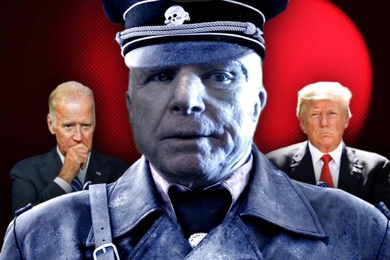 На близкую смерть Маккейна
