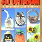 3d origami step-by-step illustrations (модульное оригами)