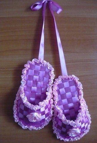 Мастер-класс по плетению сувенирных тапочек