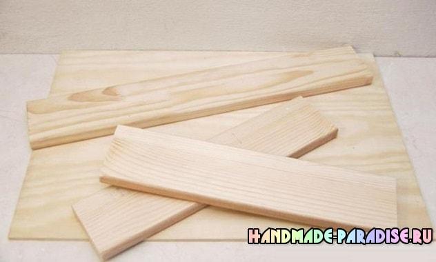 Как сделать деревянный поднос своими руками