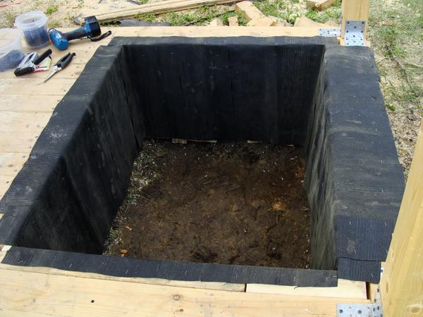 Как сделать фундамент на яме