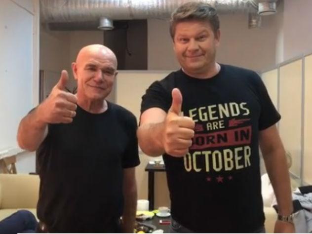 Сергей Мазаев и Дмитрий Губе…