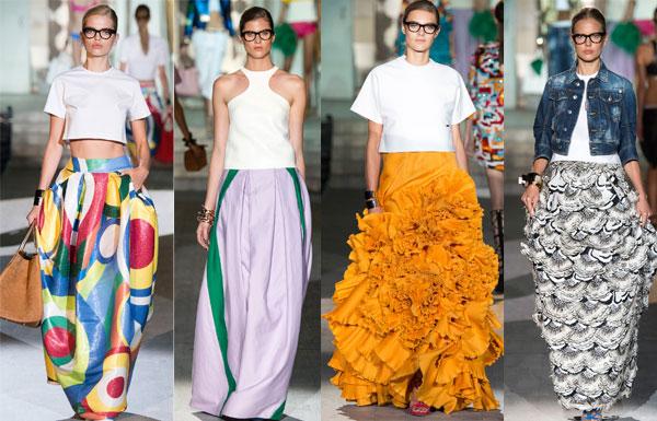 Модные юбки в пол венса-лето 2015 – самый романтичный тренд