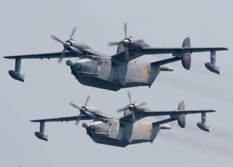 МО РФ приняло решение о модернизации парка самолетов-амфибий Бе-12