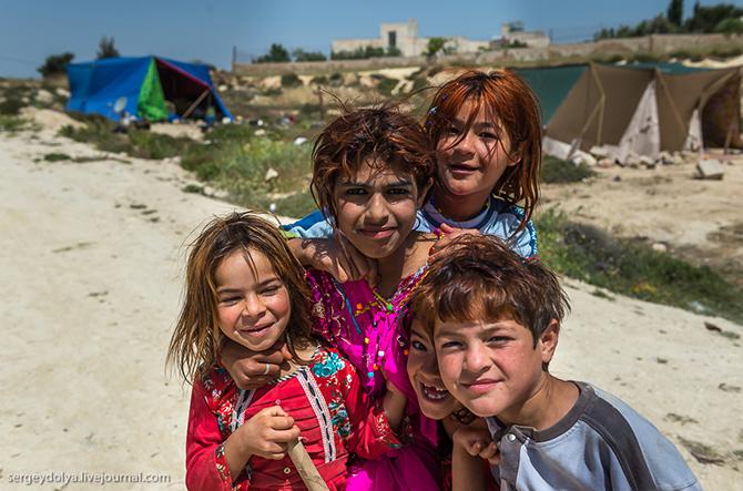 Как живут иорданские цыгане и бедуины