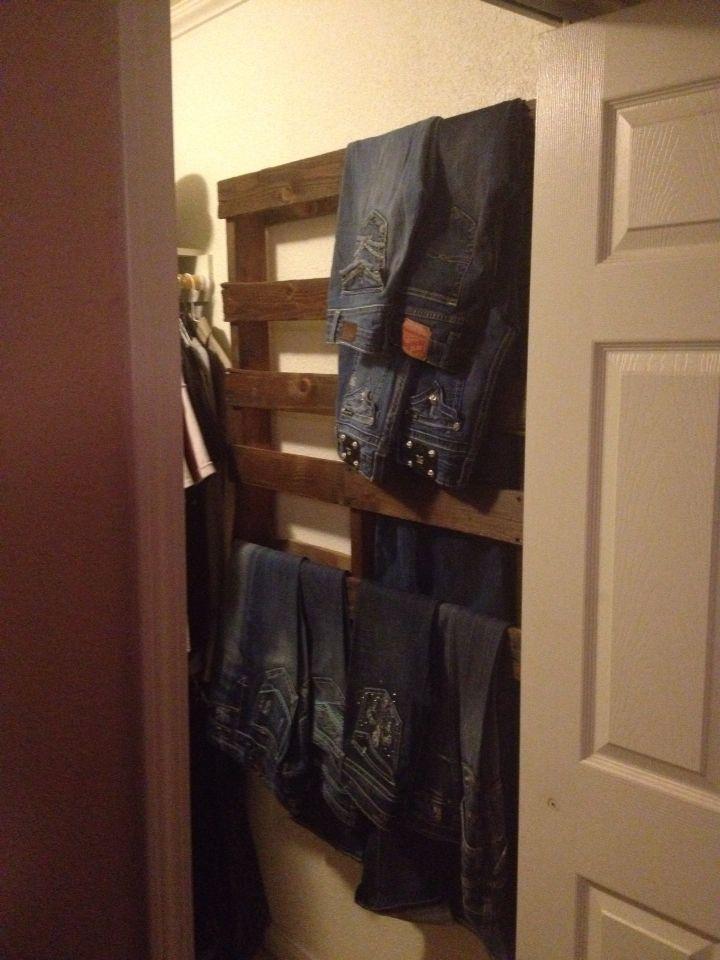 Палеты... в гардеробе
