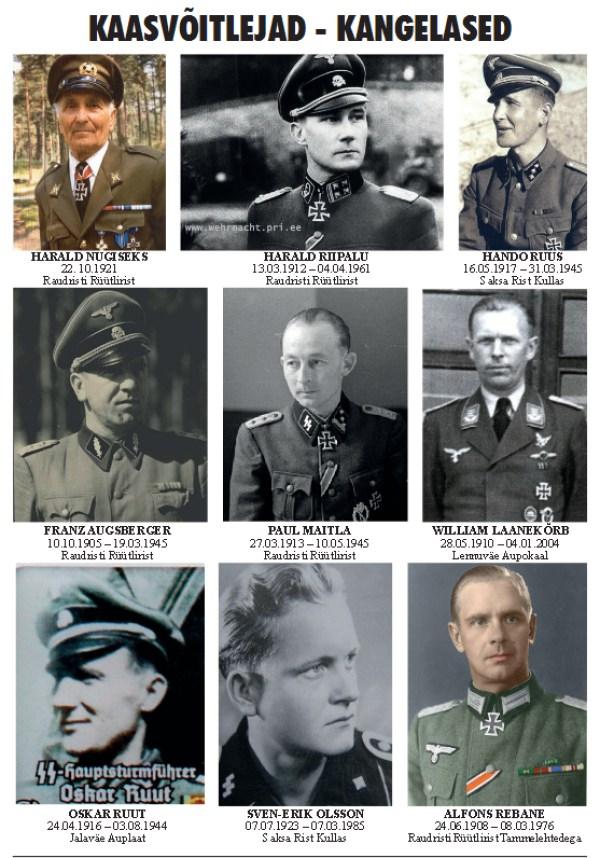 Вклад Эстонцев В «Чистоту Арийской Расы».