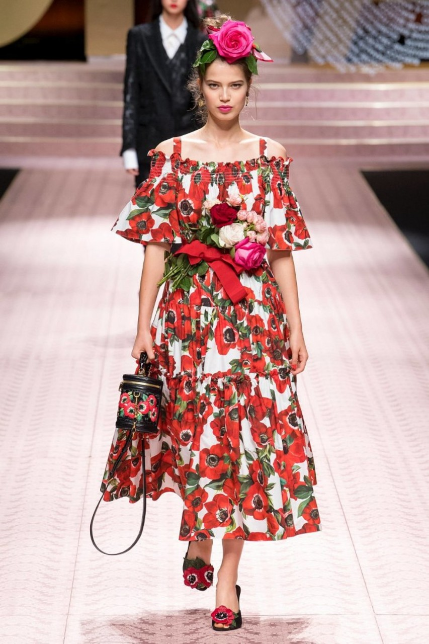 Восхитительная коллекция Dolce & Gabbana весна-лето 2019
