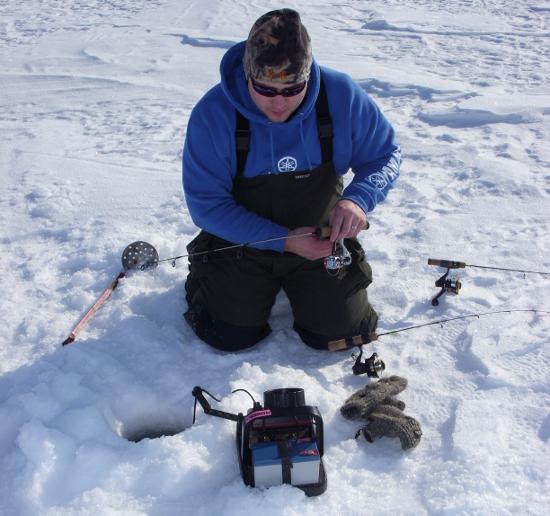 камеры подледного рыбалки видео