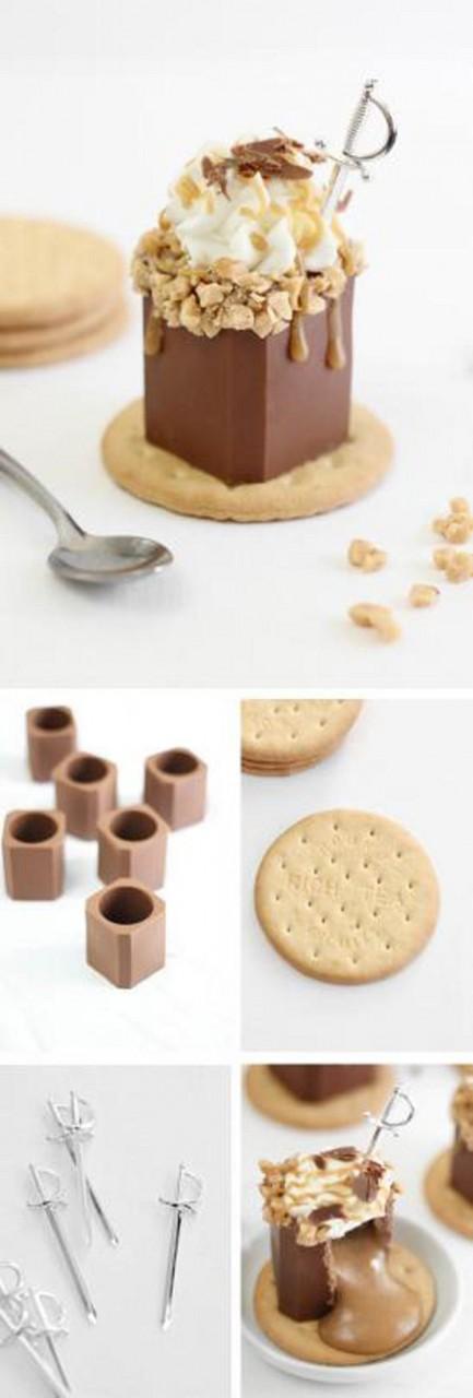 Рюмки, которыми можно закусить